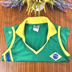 Adidas Fifa World Cup Germany 2006 Brasil Polo